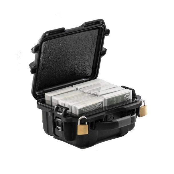 TeraTurtle LT0 Premium Protective Case - 10 Tape Capacity (in jewel cases)