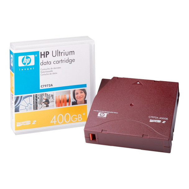 HP LTO Ultrium 2 Tape C7972A 200/400 GB Cartridge