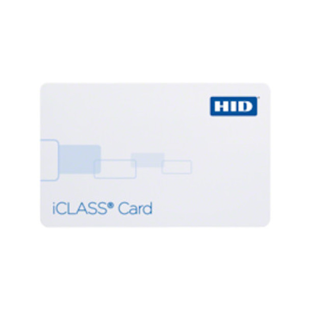 HID 202X iClass Prox Card - Combination Contactless Smart Card and Proximity Card