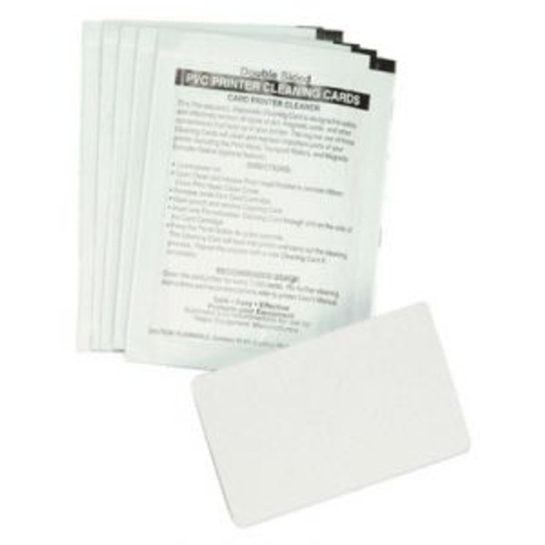 Zebra 104531-001 Cleaning Cards - Qty. 100 - Box of 100 Cleaning Cards for Zebra Printers