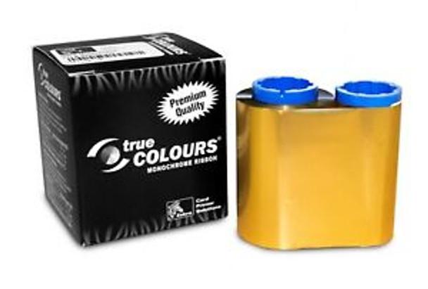 Zebra 800015-106 TrueColours C Series Gold Monochrome Ribbon for P300, P310F, P310C, P400, P420C, P500, P520C, P600 Card Printers