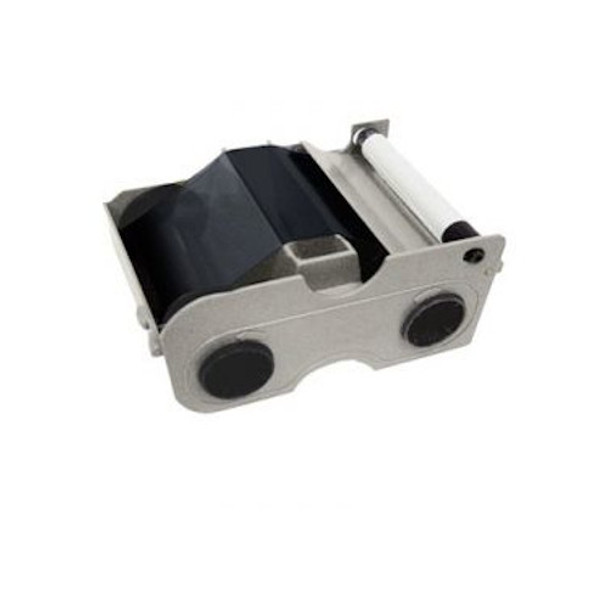 Fargo 44202 Standard Black (K) Monochrome Cartridge with Cleaning Roller - 1000 Prints