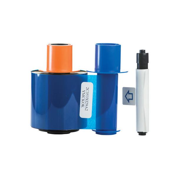 Fargo 45210 YMCKOK Full Color Ribbon for DTC4500 Series ID Card Printers - 500 Prints