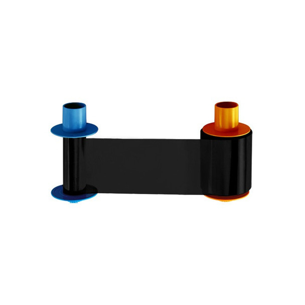 Fargo 45213 ECO BO Dye-Sublimation Black & Clear Overlay Panel for DTC4500e and DTC4500 Card Printers - 1250 Images