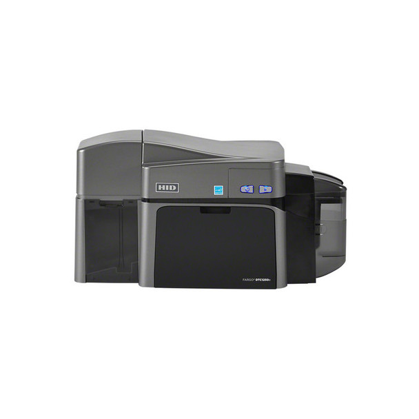 Fargo DTC1250e Single-Sided ID Card Printer with Magnetic Stripe Encoder 50010
