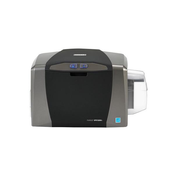 Fargo DTC1250e Single-Sided ID Card Printer 50000