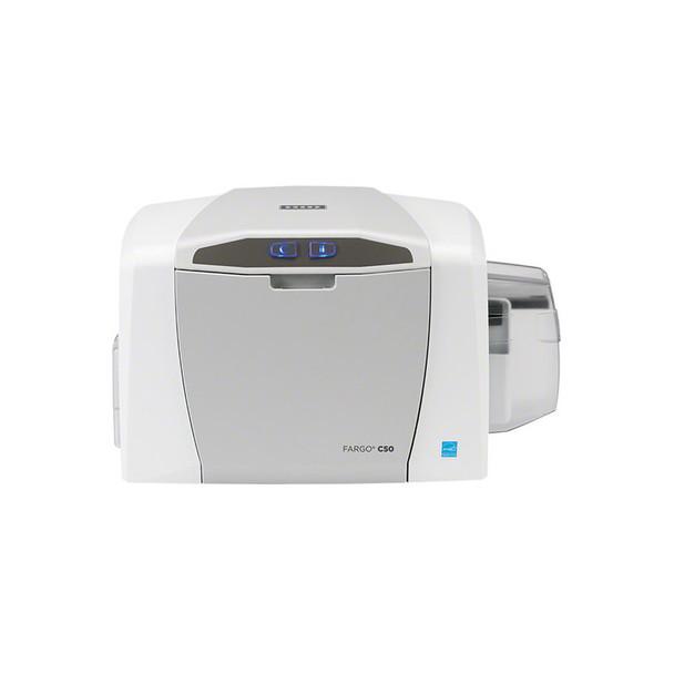 Fargo C50 ID Card Printer with Asure ID 7 Express & Webcam 51702 Single Side ID Printer
