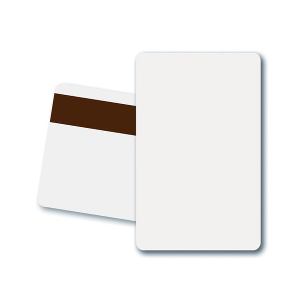 Fargo 81751 CR-80 UltraCard PVC Cards with High-Coercivity Magnetic Stripe (500 Cards)