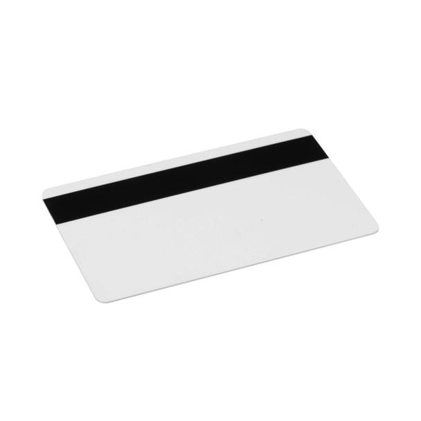 Fargo 81750 CR80 Low Coercivity Mag Stripe 30 mil PVC Cards