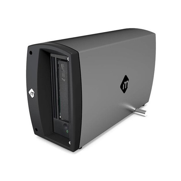 mTape Thunderbolt 3 LTO-7 with mLogic LTFS Utility for macOS The and only Thunderbolt LTO-7 Solution Certified by Apple & Intel