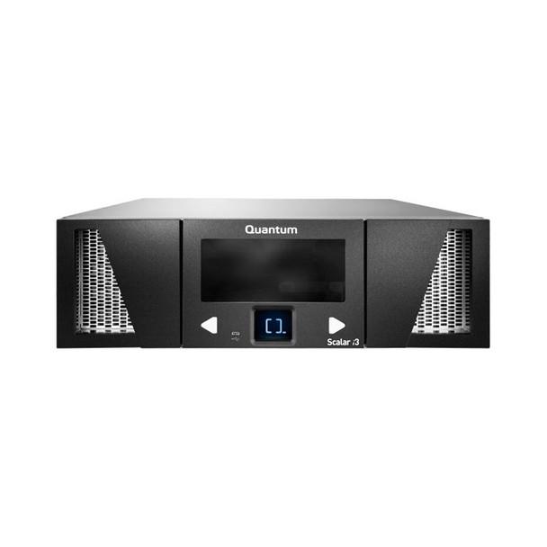 Quantum Scalar i3 Tape Library (LSC33-CSJ2-L7JA) 50 licensed slots, Two IBM LTO-7 Tape Drives and 8Gb Fibre Channel