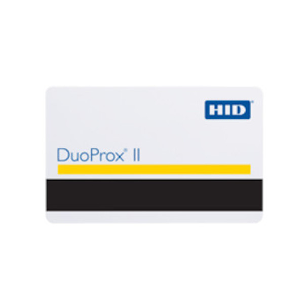 HID Global 1336 DuoProx II Card - ISO-Thin, Imageable HID Proximity Card with Magnetic Stripe