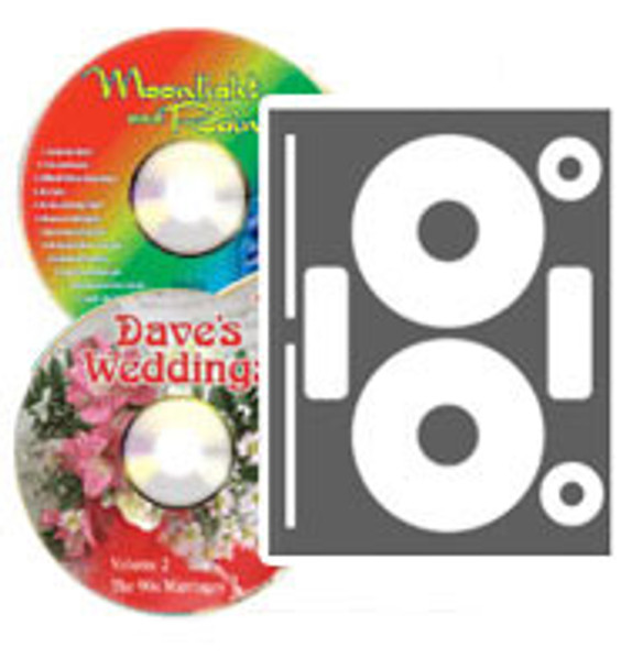 Neato High Gloss Photo Quality CD/DVD Labels - 100 Pack