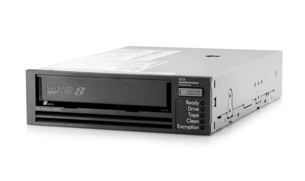 HPE StoreEver LTO-8 Ultrium 30750 Internal Tape Drive TAA Compliant Angle