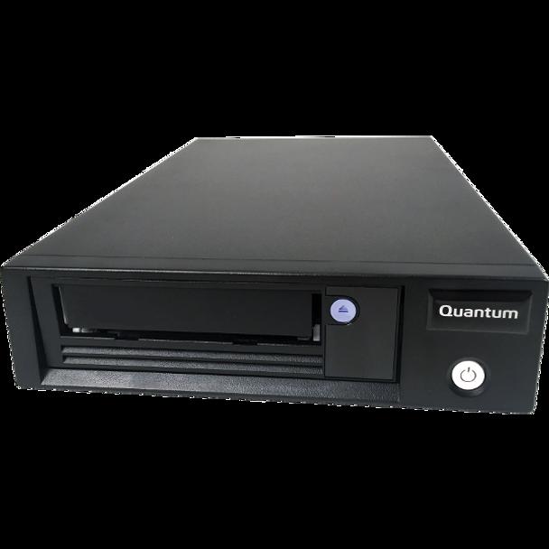 "Quantum LTO-8 Tape Drive, Half Height, add on for 1U Rack, 6Gb/s SAS, 5.25"", Black, Bare"