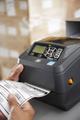 Zebra - ZD500 Thermal Transfer Desktop Printer  with Label