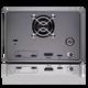 G-RAID 2 - 12TB, 2 Bay RAID Array From SanDisk Professional - Back with Ports