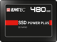 EMTEC Internal SSD X150 Power Plus 480GB Solid State Drive - Front