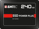 EMTEC Internal SSD X150 Power Plus 240GB Solid State Drive - Front