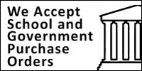 We accept school and government purchase orders