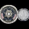 Custom challenge coin size comparison.