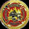 Fire rescue custom fire department coin.