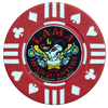 LAMA red custom poker chip