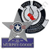 Custom stamped steel lapel pins. Murphy Good an New York Athletic Club Pins.