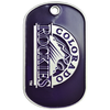 Photo Etched Dog Tags - Stainless Steel - 1.5mm Thickness