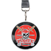 Custom race medal pirates plunder with lanyard