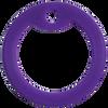 Violet dog tag silencer