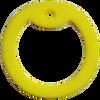 Yellow dog tag silencer