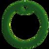 Army green dog tag silencer