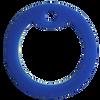 Blue dog tag silencer