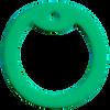 Green dog tag silencer