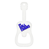 Custom guitar bottle opener white