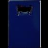 blue credit card bottle opener.