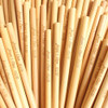 Custom laser engraved bamboo straws. These were made for a large wedding to be distributed as wedding favors.