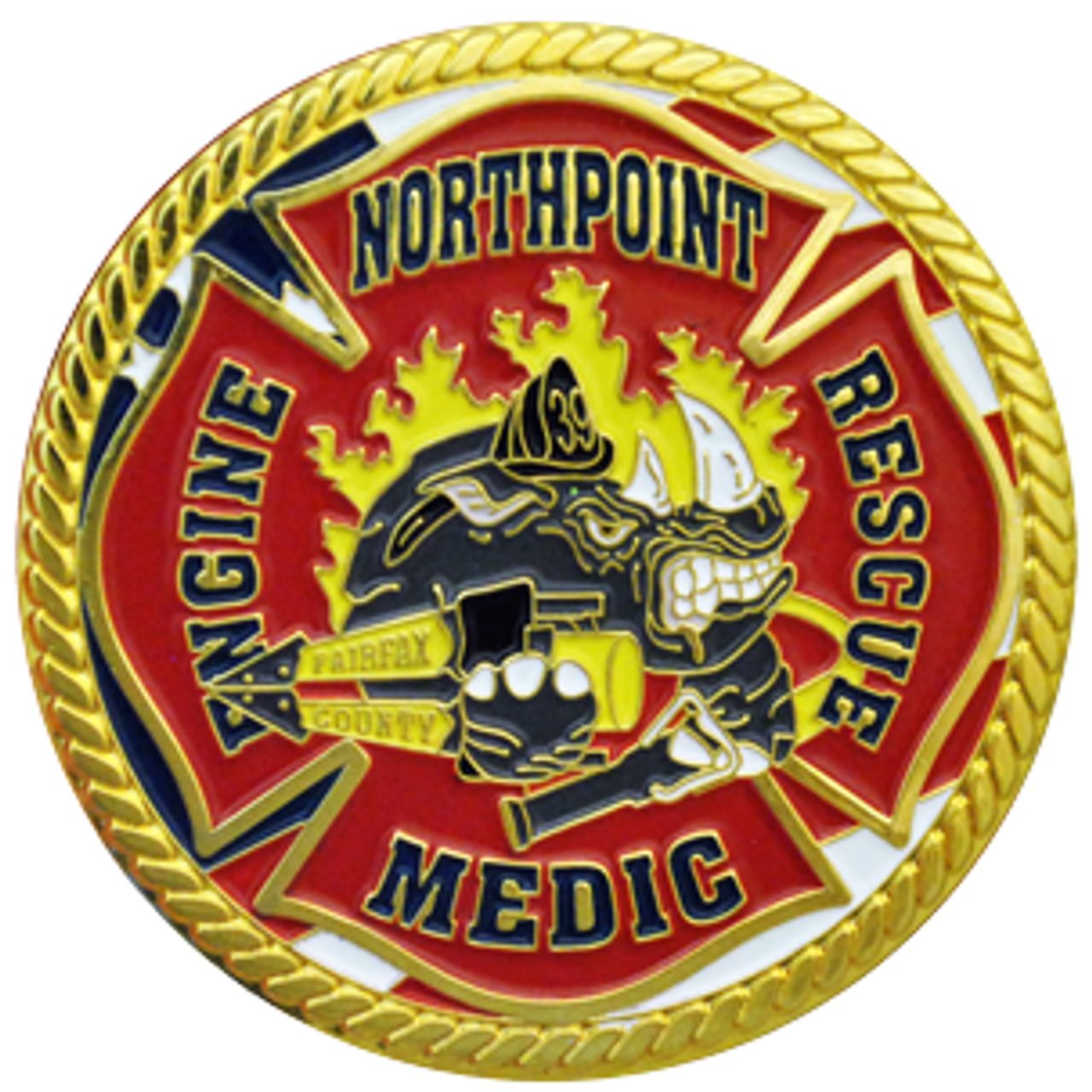 Custom Challenge Coin - 1 5 Inches
