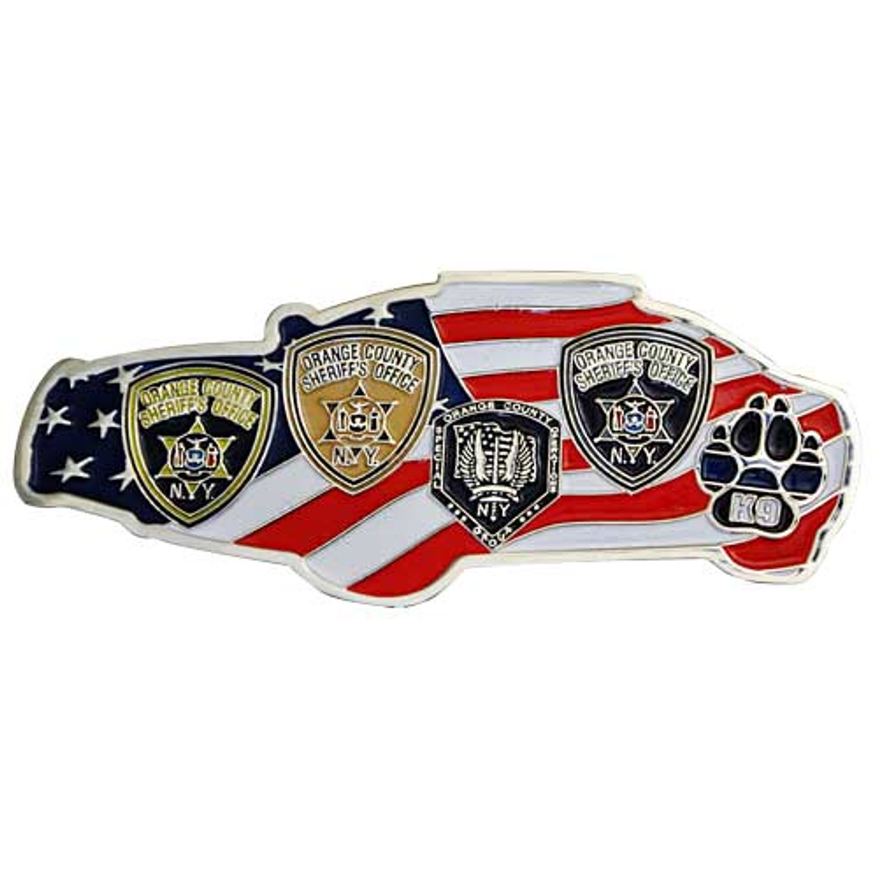 Custom Challenge Coin - 2 25 Inches