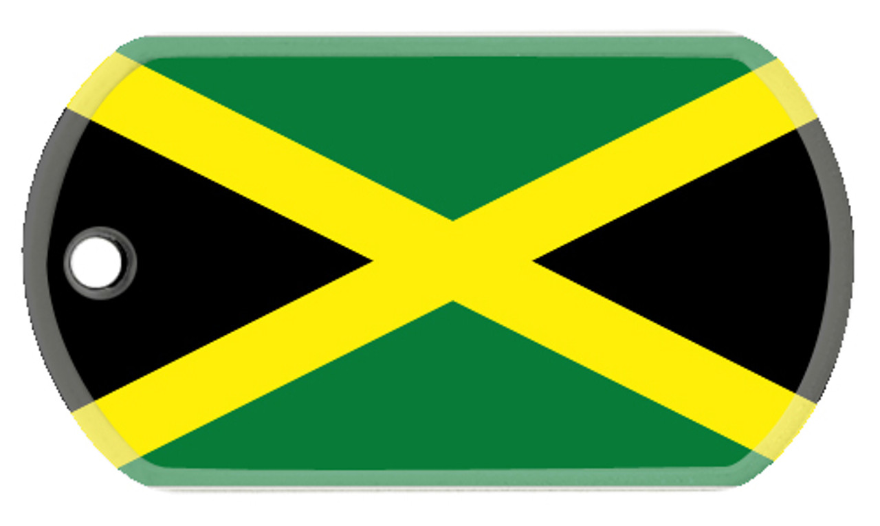 Jamaican Flag Dog Tag Order Online Logotags
