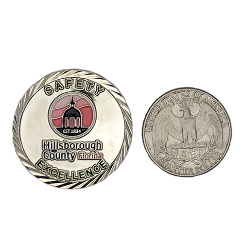 Custom Challenge Coin - 1 25 Inches