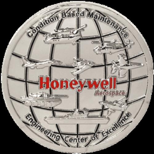 Honeywell custom challenge coin.