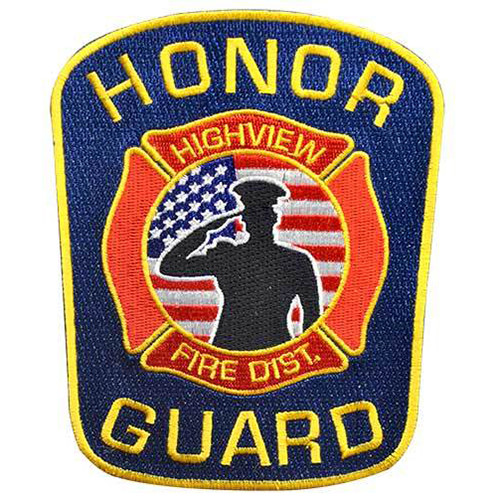 Custom fire fighter 2 inch embroidered patch that can be purchased in bulk at incredibly low wholesale prices. This patch has multiple