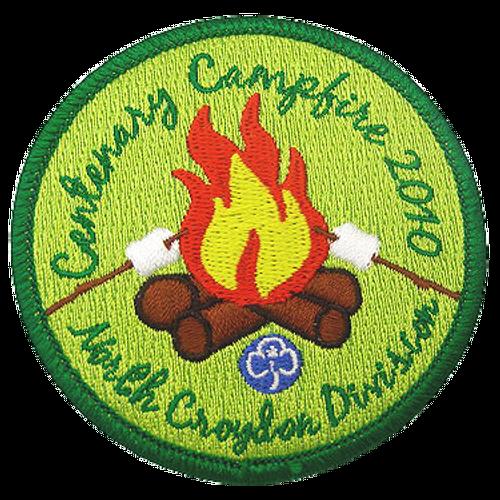 "Custom 2.75"" camping patch"