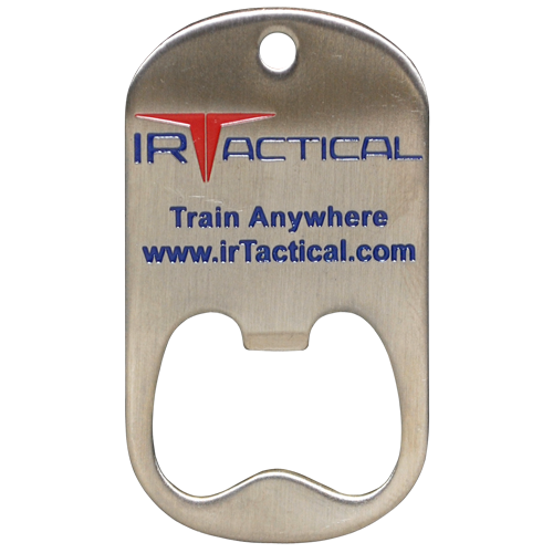 IR tactical custom dog tag bottle opener