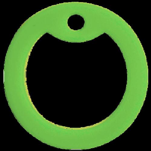 Light green dog tag silencer