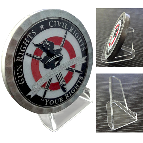 Acrylic Challenge Coin Stand