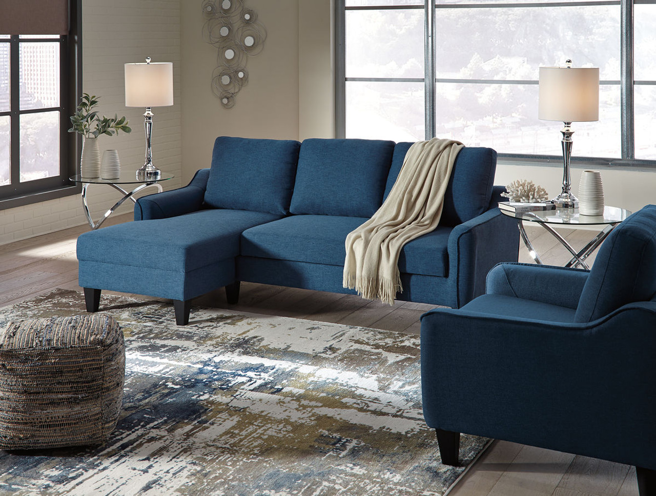 Fabulous Ashley Jarreau Blue Queen Sofa Sleeper Chair Dailytribune Chair Design For Home Dailytribuneorg