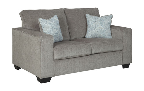 Awesome Ashley Aldie Nuvella Sand Loveseat On Sale At Furniture And Ibusinesslaw Wood Chair Design Ideas Ibusinesslaworg